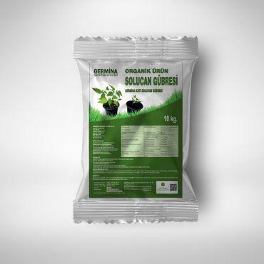 Organik Katı Solucan Gübresi 10 Kg